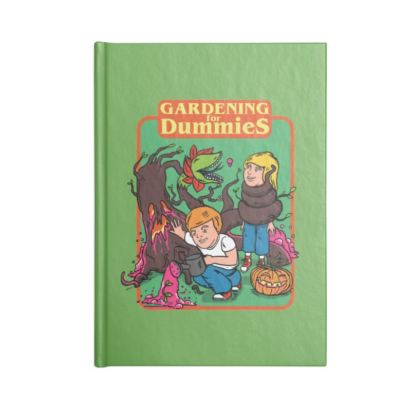 Gardening for dummies Accessories Blank Journal Notebook by The Cool Orange