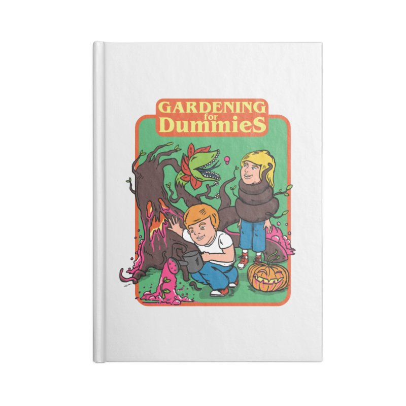 Gardening for dummies Accessories Lined Journal Notebook by The Cool Orange