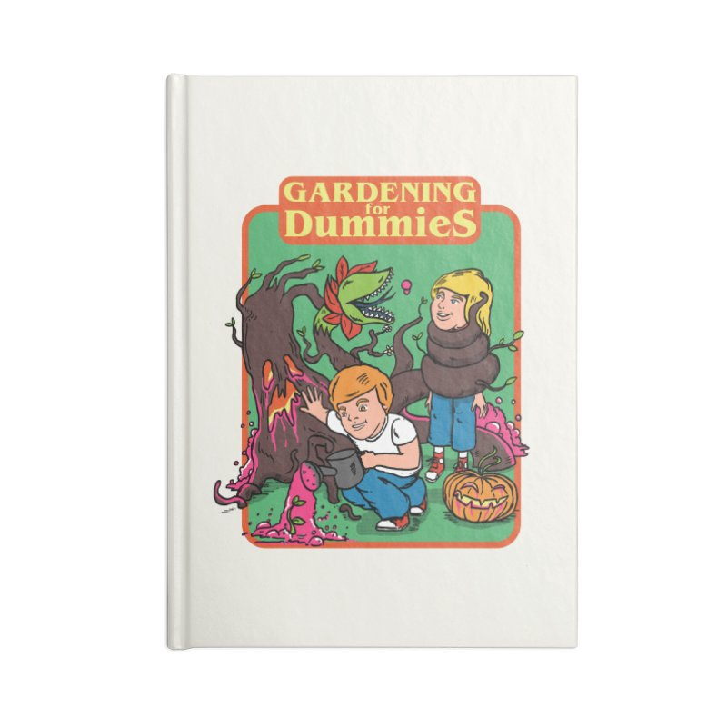 Gardening for dummies Accessories Notebook by The Cool Orange