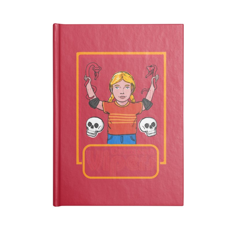 Crimson vipers - the girl with no fear Accessories Notebook by The Cool Orange