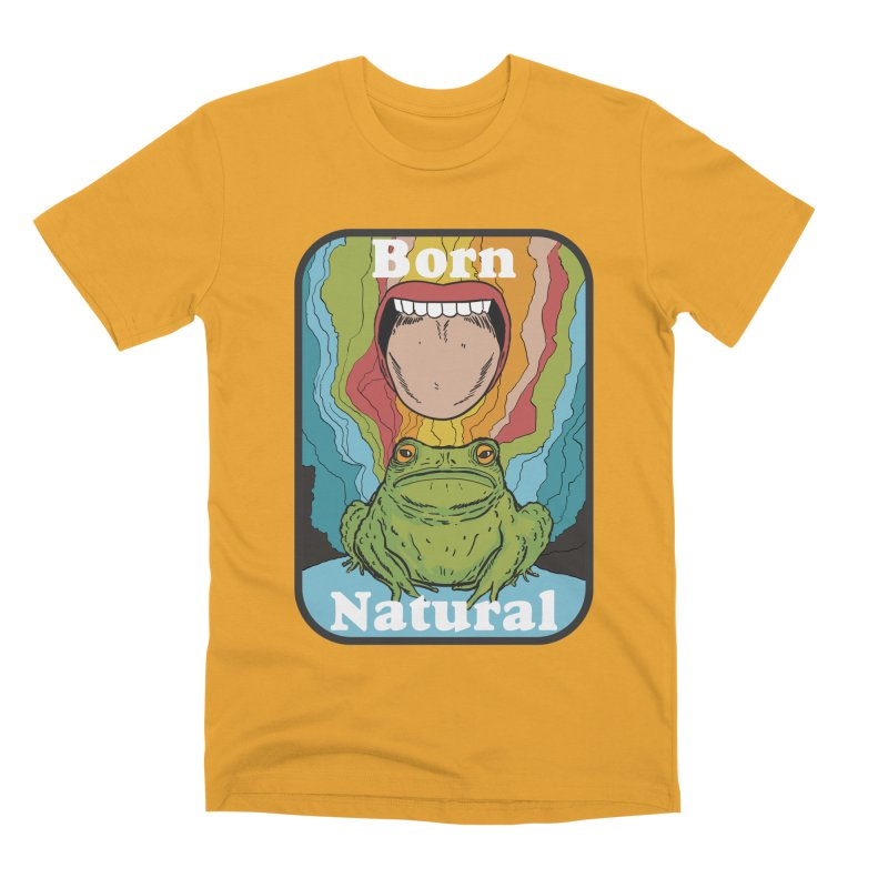 born natural Men's Premium T-Shirt by The Cool Orange
