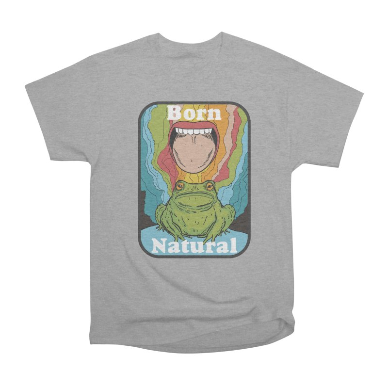 born natural Men's Heavyweight T-Shirt by The Cool Orange