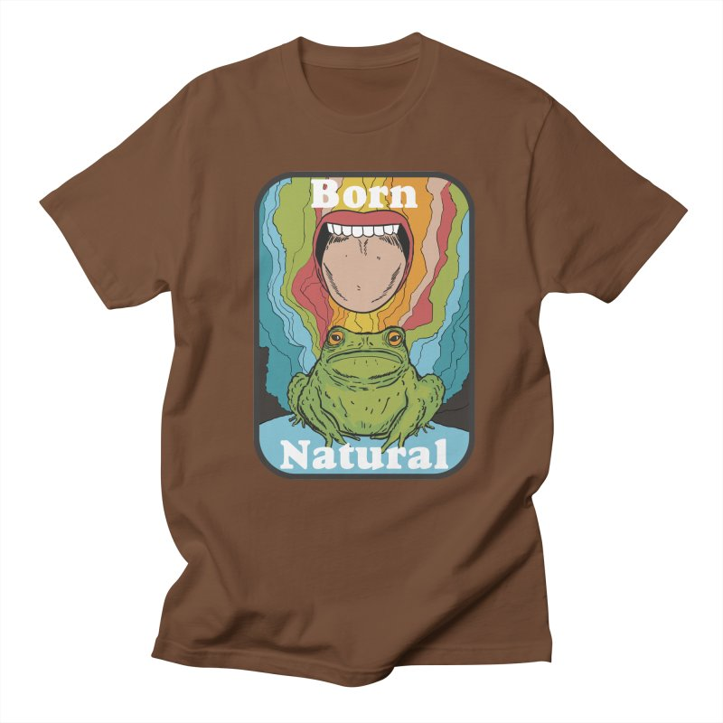 born natural Men's Regular T-Shirt by The Cool Orange