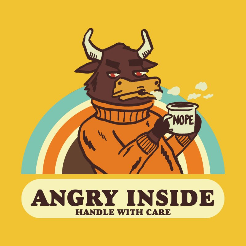 angry inside   by The Cool Orange