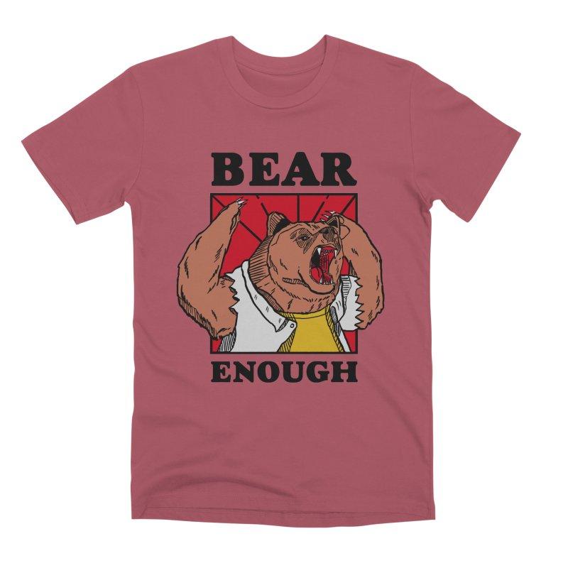 bear enough Men's Premium T-Shirt by The Cool Orange
