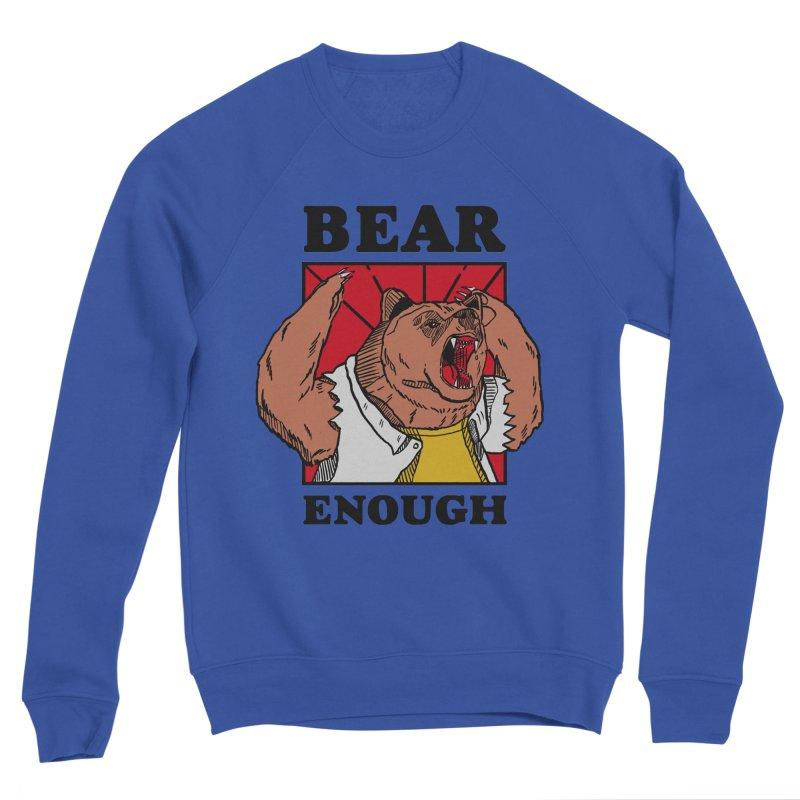 bear enough Men's Sponge Fleece Sweatshirt by The Cool Orange