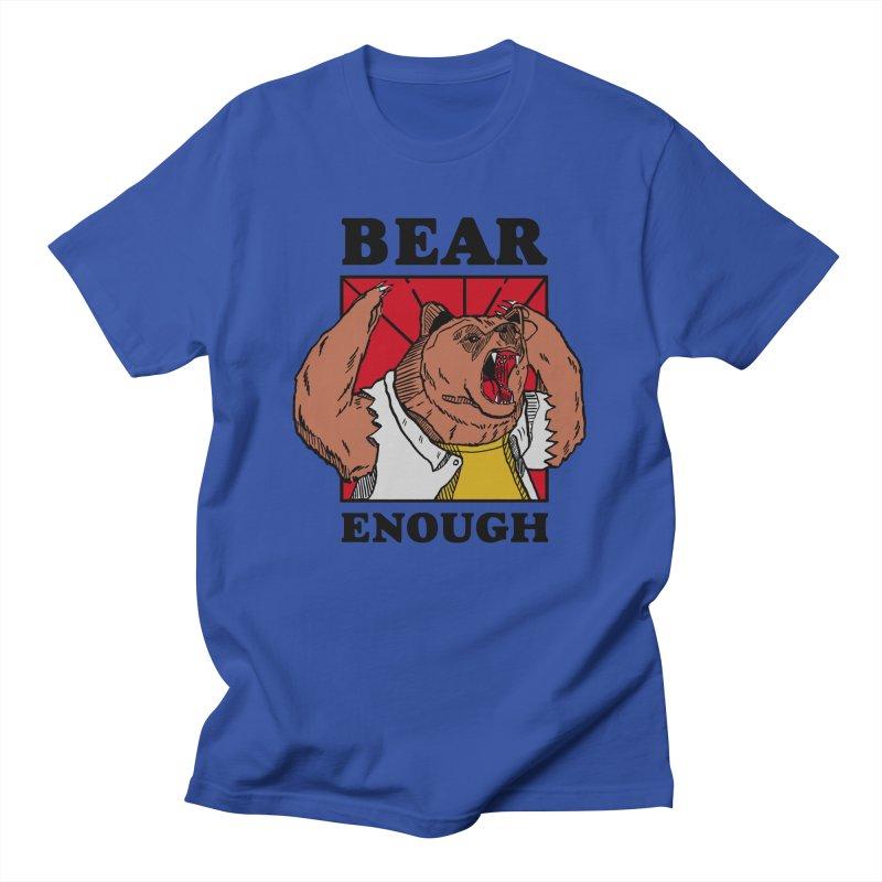 bear enough Men's Regular T-Shirt by The Cool Orange