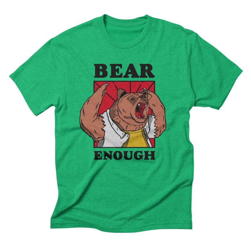 bear enough Men's Triblend T-Shirt by The Cool Orange