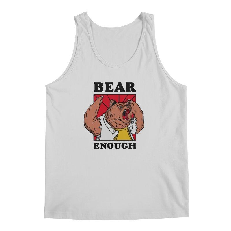 bear enough Men's Regular Tank by The Cool Orange