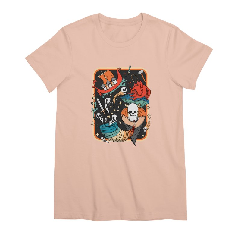 odino calls you Women's Premium T-Shirt by The Cool Orange