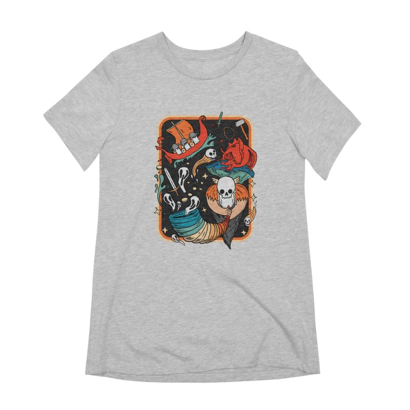odino calls you Women's Extra Soft T-Shirt by The Cool Orange
