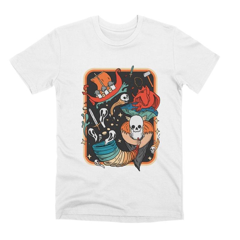 odino calls you Men's Premium T-Shirt by The Cool Orange