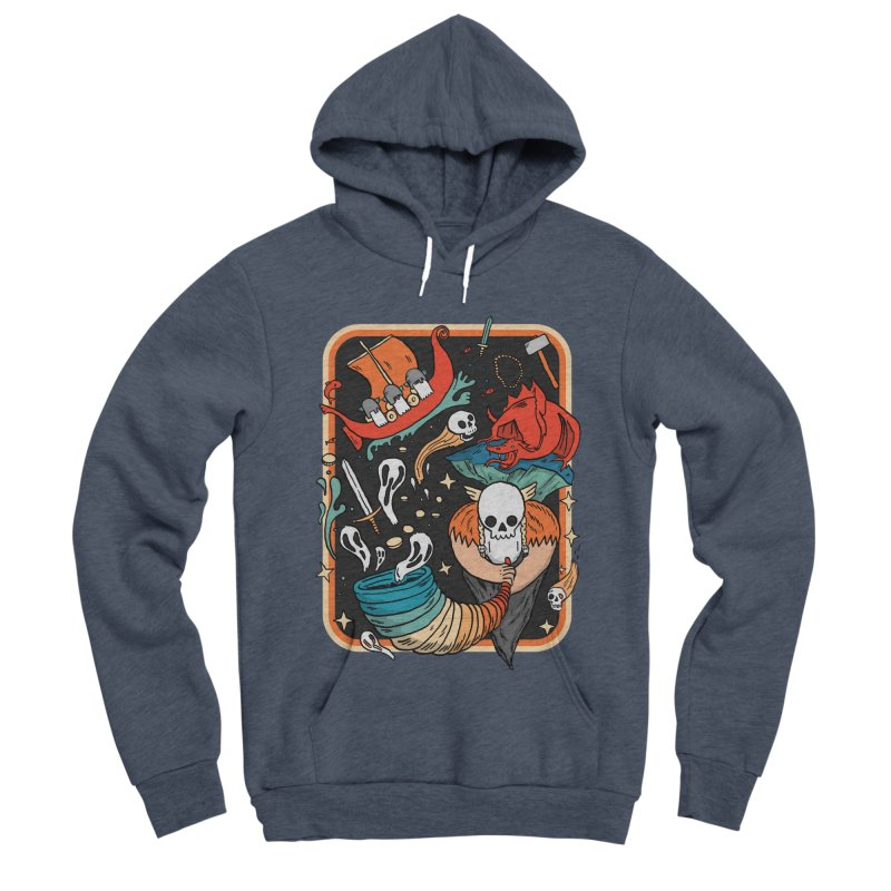 odino calls you Women's Sponge Fleece Pullover Hoody by The Cool Orange