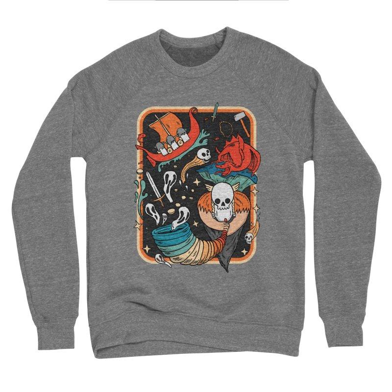 odino calls you Men's Sponge Fleece Sweatshirt by The Cool Orange