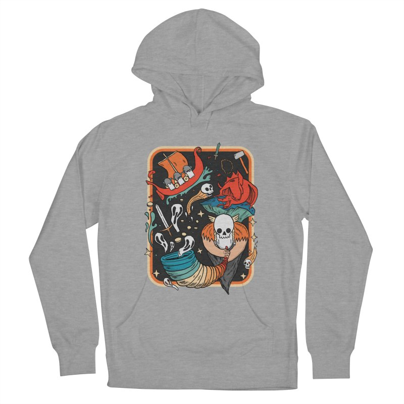 odino calls you Women's French Terry Pullover Hoody by The Cool Orange