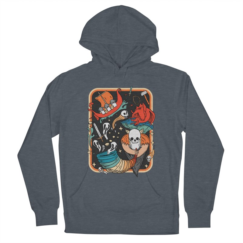 odino calls you Men's French Terry Pullover Hoody by The Cool Orange