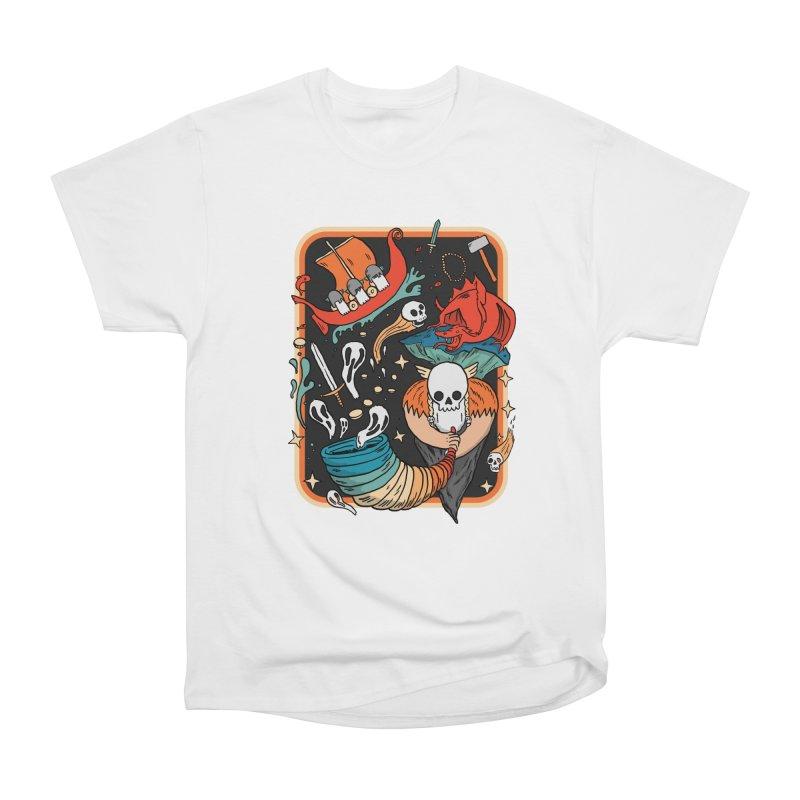 odino calls you Women's Heavyweight Unisex T-Shirt by The Cool Orange