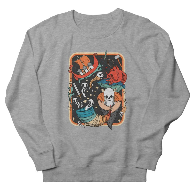 odino calls you Men's French Terry Sweatshirt by The Cool Orange