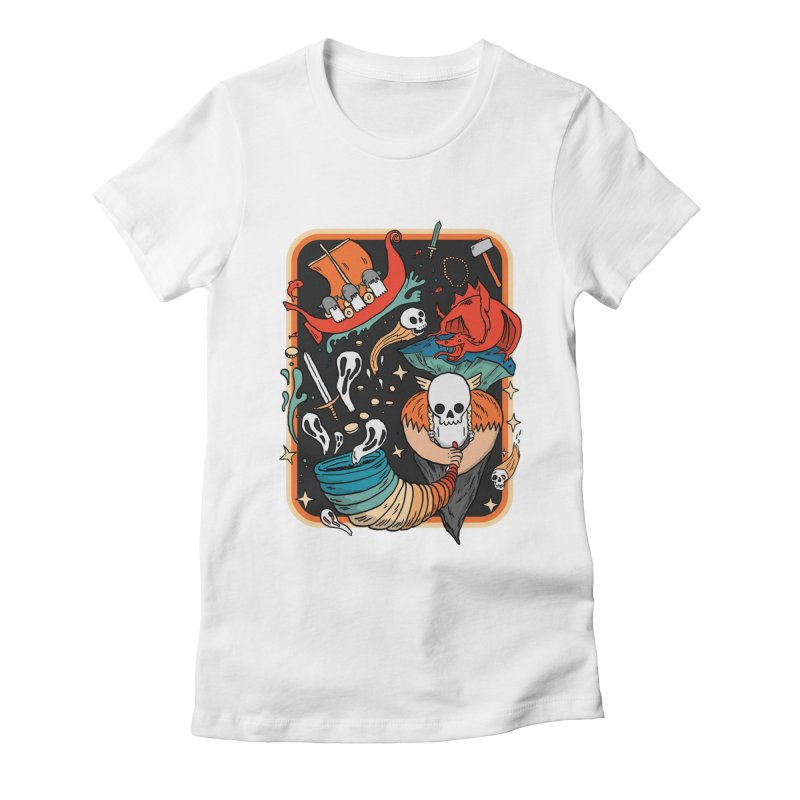 odino calls you Women's Fitted T-Shirt by The Cool Orange