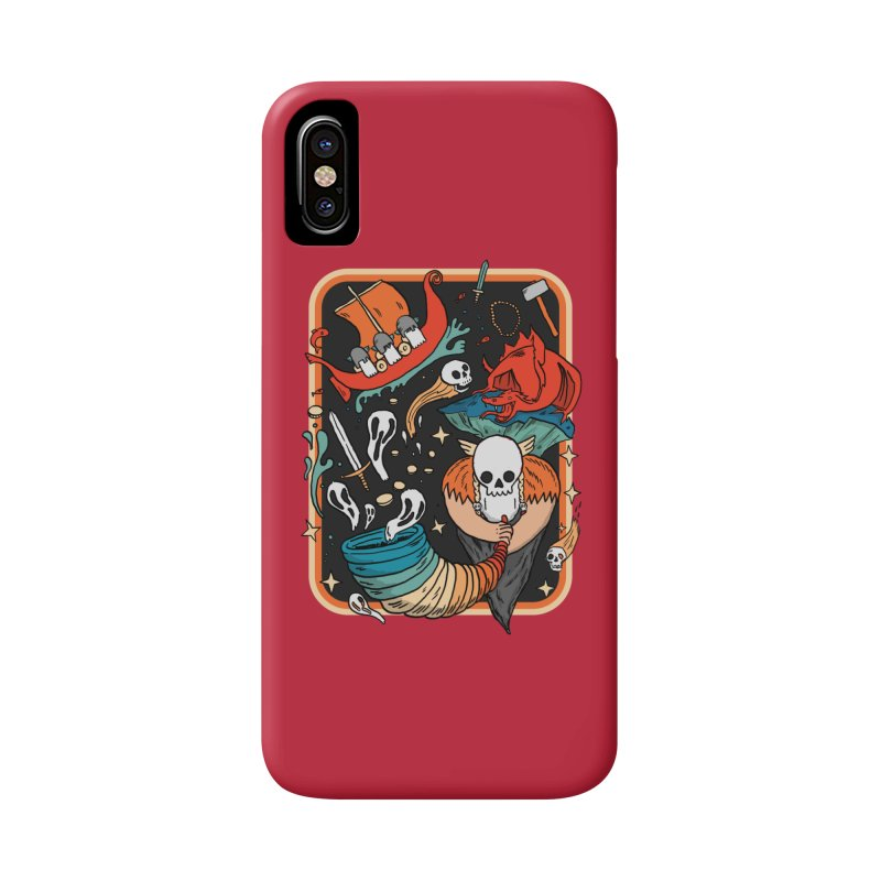 odino calls you Accessories Phone Case by The Cool Orange
