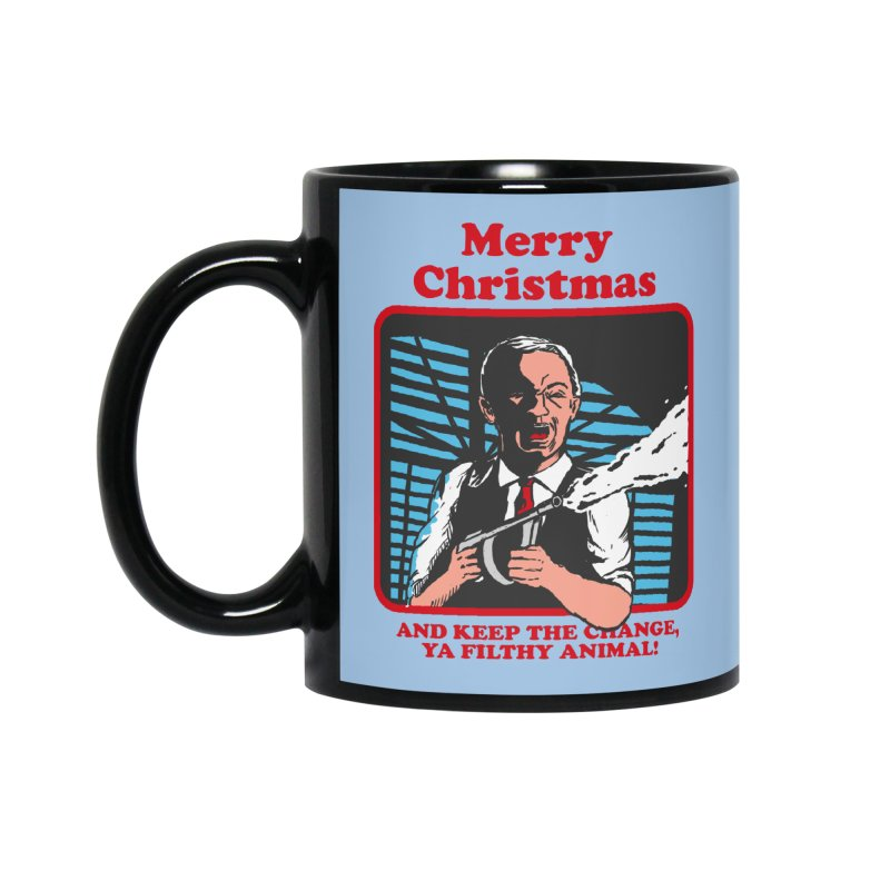 merry christmas ya filthy animal Accessories Standard Mug by The Cool Orange