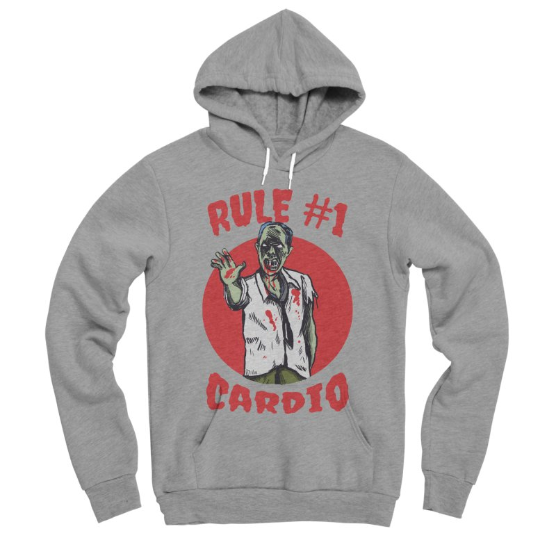 Rule number 1 Men's Sponge Fleece Pullover Hoody by The Cool Orange