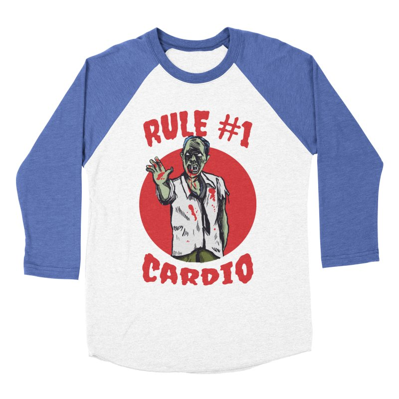 Rule number 1 Women's Baseball Triblend Longsleeve T-Shirt by The Cool Orange