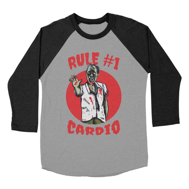 Rule number 1 Women's Baseball Triblend Longsleeve T-Shirt by The Cool Orange