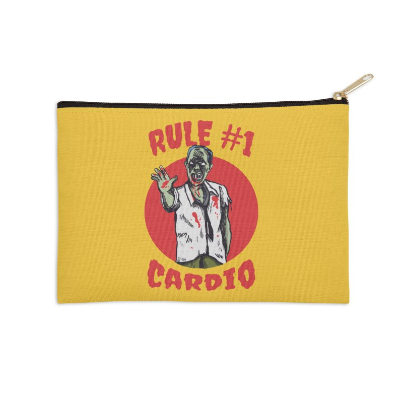 Rule number 1 Accessories Zip Pouch by The Cool Orange