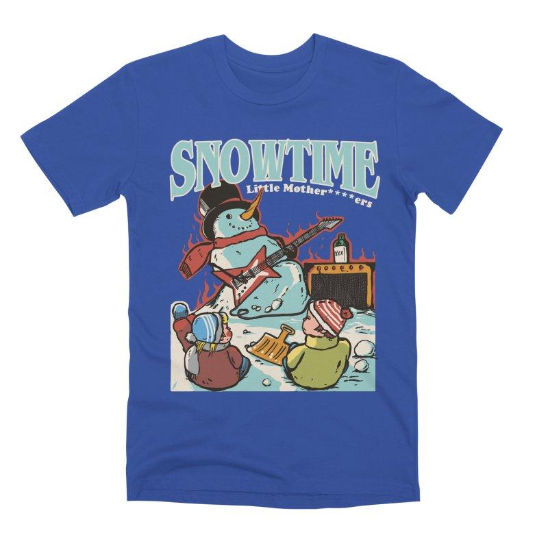 snowtime Men's Premium T-Shirt by The Cool Orange