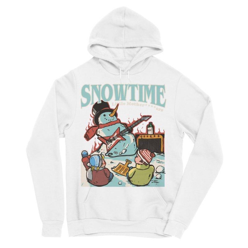 snowtime Women's Sponge Fleece Pullover Hoody by The Cool Orange