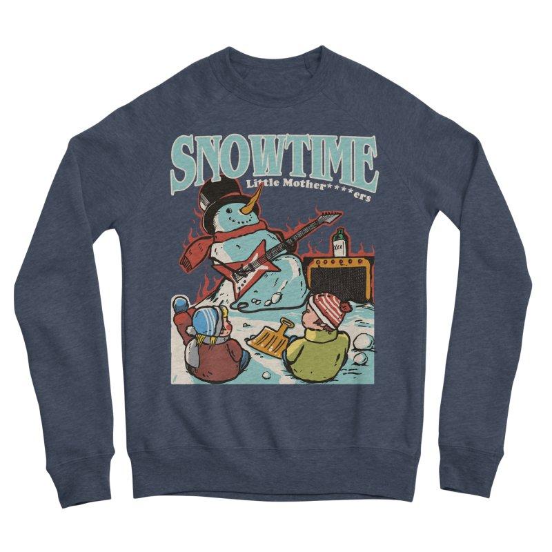 snowtime Women's Sponge Fleece Sweatshirt by The Cool Orange