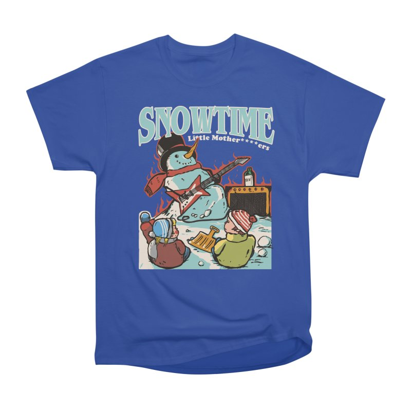 snowtime Men's Heavyweight T-Shirt by The Cool Orange
