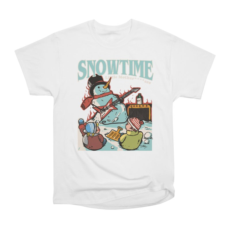 snowtime Women's Heavyweight Unisex T-Shirt by The Cool Orange