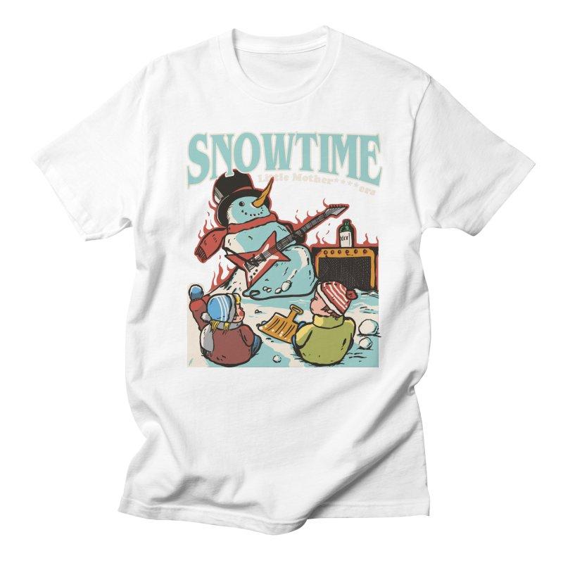 snowtime Men's Regular T-Shirt by The Cool Orange