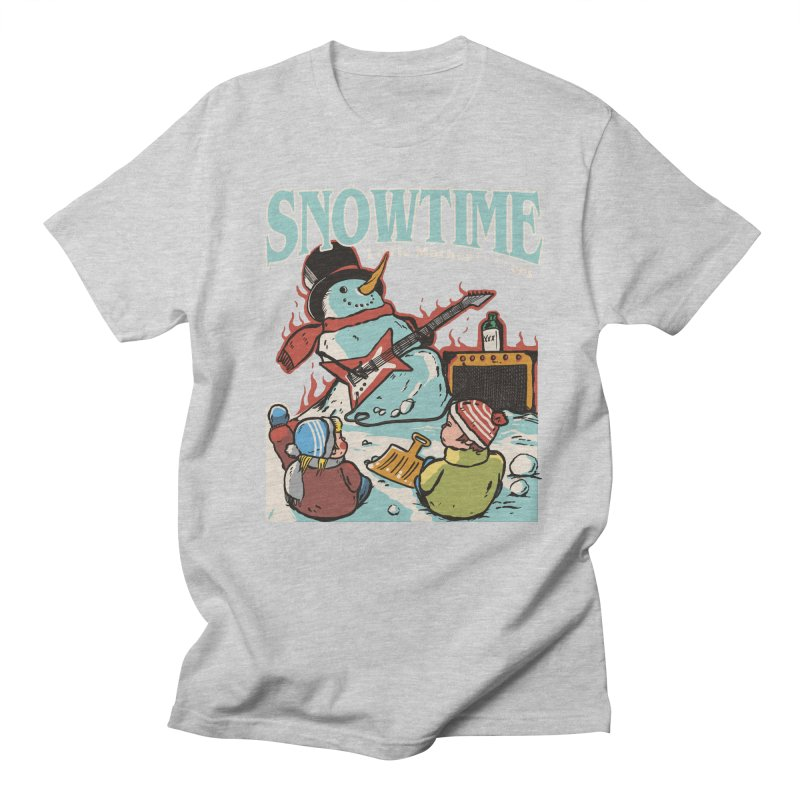 snowtime Women's Regular Unisex T-Shirt by The Cool Orange
