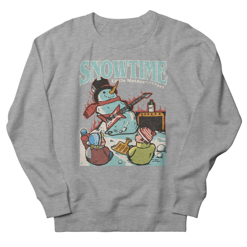 snowtime Men's French Terry Sweatshirt by The Cool Orange