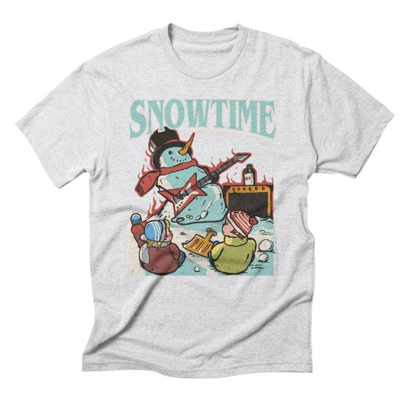 snowtime Men's Triblend T-Shirt by The Cool Orange