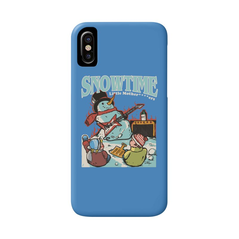 snowtime Accessories Phone Case by The Cool Orange