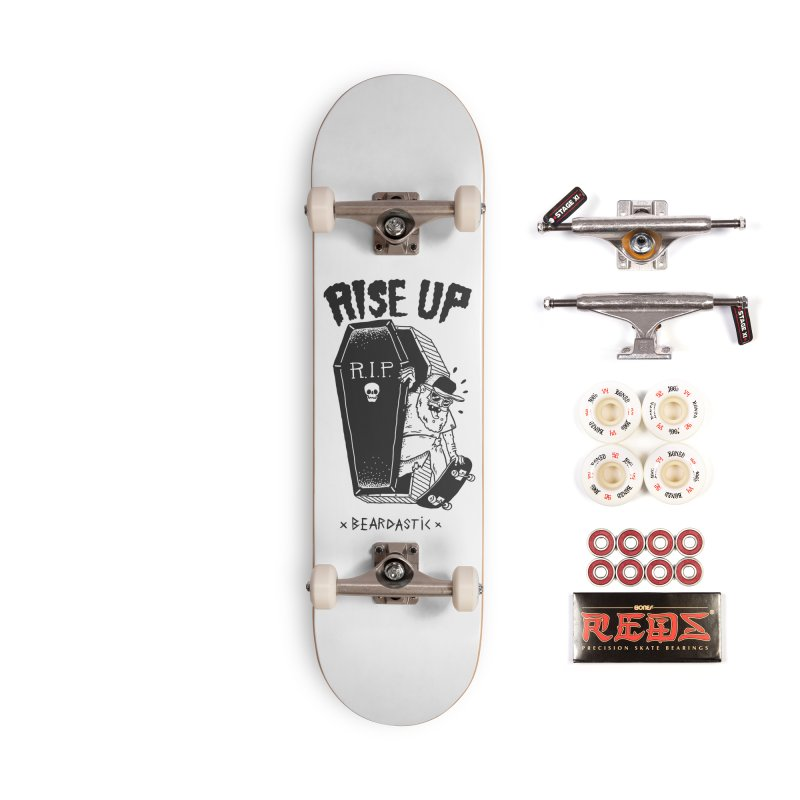 Rise up from the graveyard Accessories Complete - Pro Skateboard by The Cool Orange
