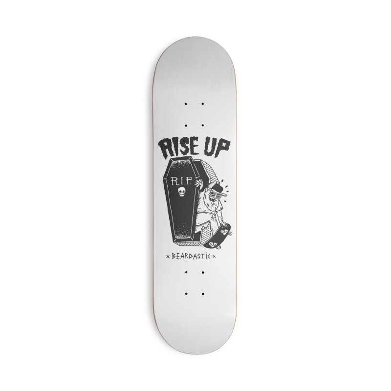 Rise up from the graveyard Accessories Deck Only Skateboard by The Cool Orange