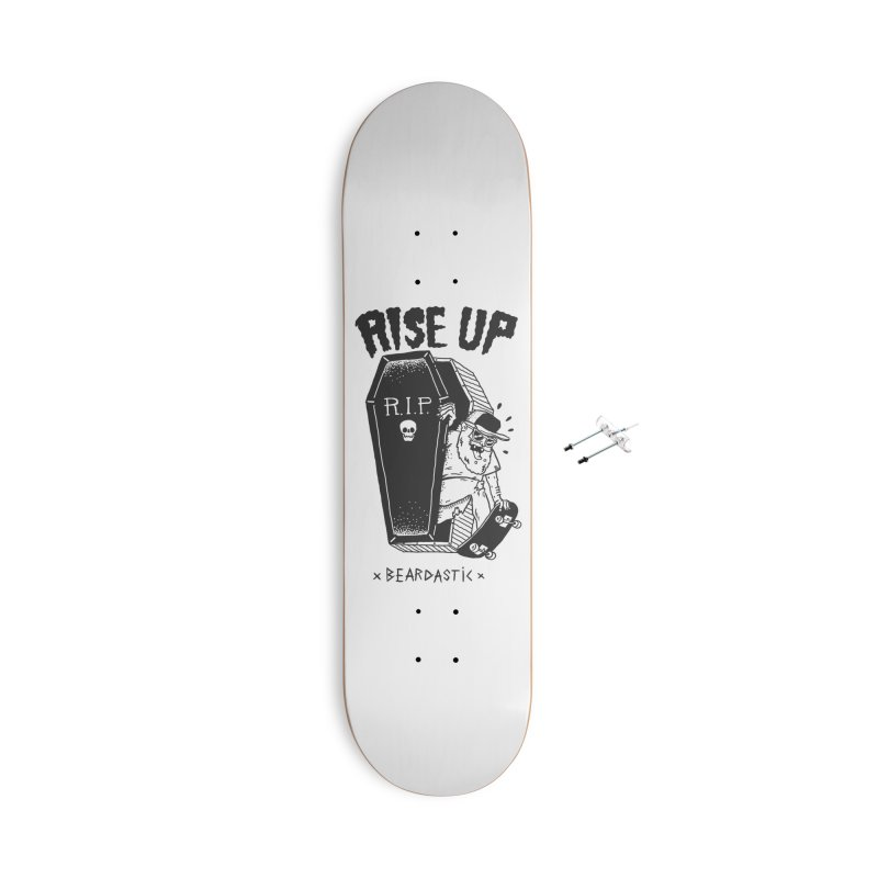 Rise up from the graveyard Accessories With Hanging Hardware Skateboard by The Cool Orange