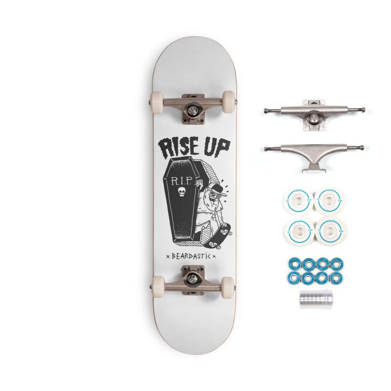 Rise up from the graveyard Accessories Complete - Basic Skateboard by The Cool Orange