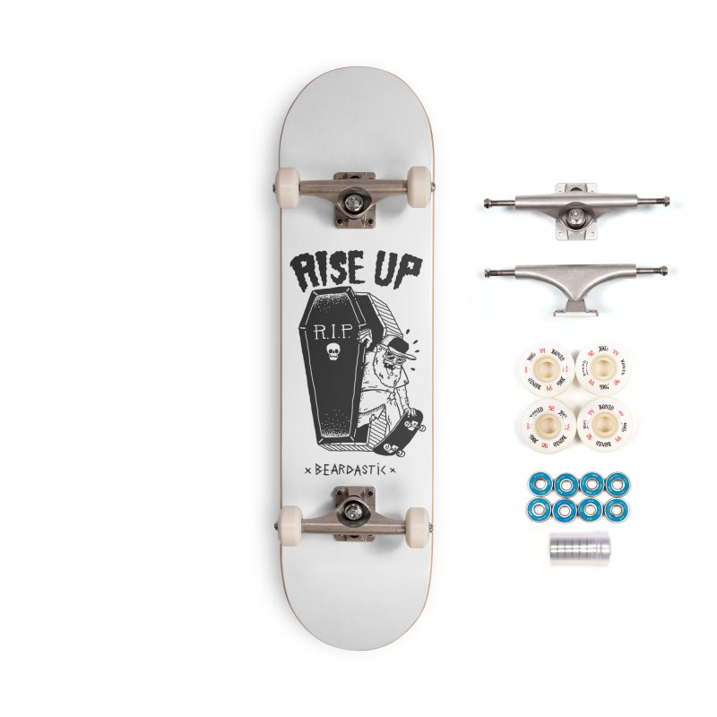 Rise up from the graveyard Accessories Complete - Premium Skateboard by The Cool Orange