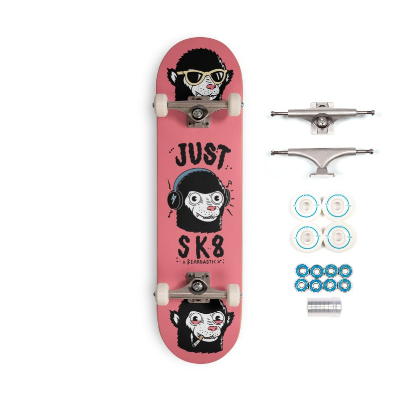 Monkeys Accessories Complete - Basic Skateboard by The Cool Orange