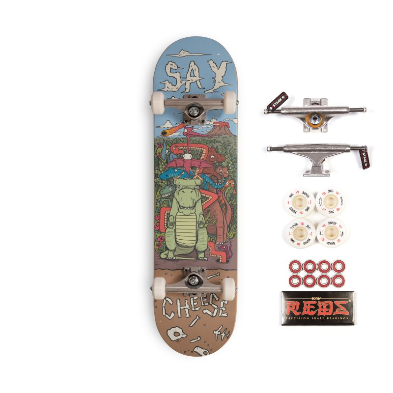 Say Cheese Accessories Complete - Pro Skateboard by The Cool Orange