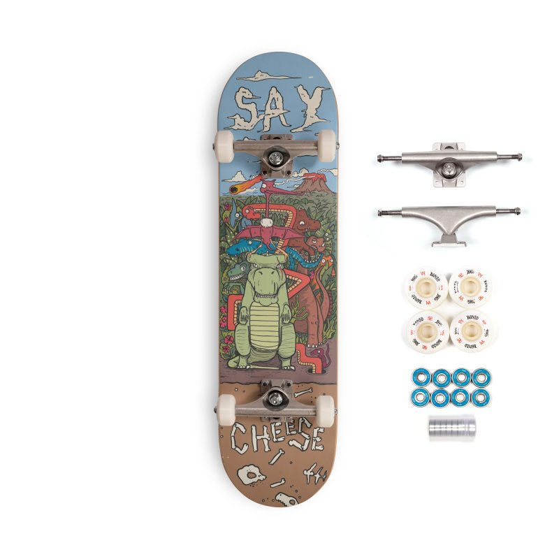 Say Cheese Accessories Complete - Premium Skateboard by The Cool Orange