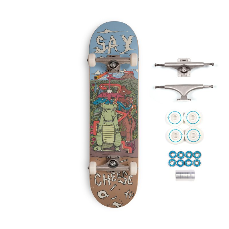 Say Cheese Accessories Complete - Basic Skateboard by The Cool Orange