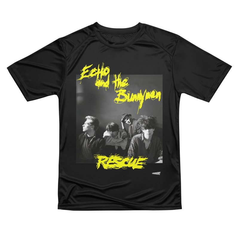 Echo and the Bunnymen - Rescue Men's T-Shirt by LOUDER.ink