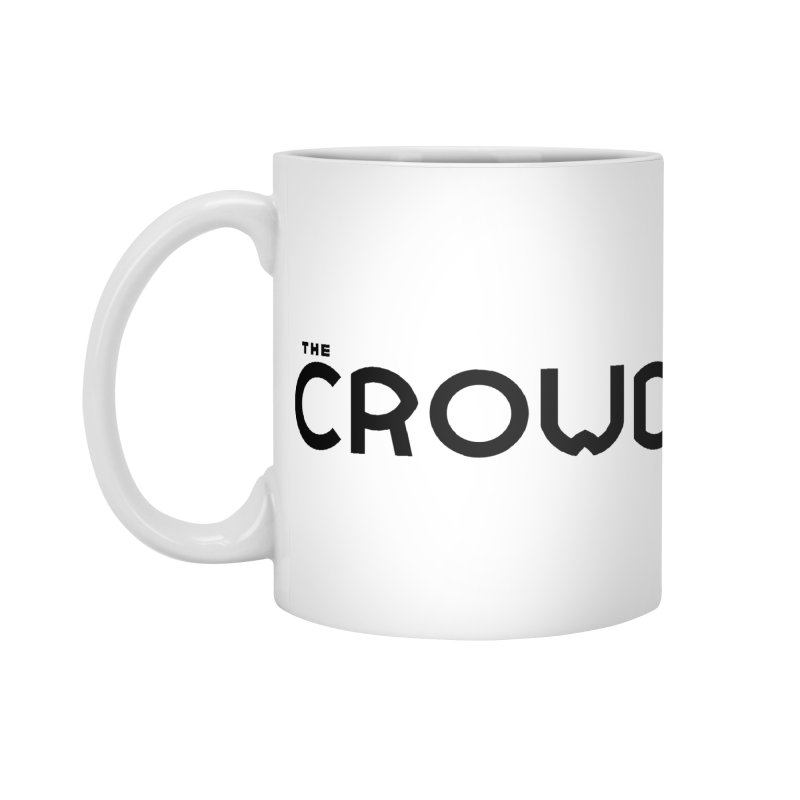 Black Logo Accessories Mug by thecrowd's Artist Shop